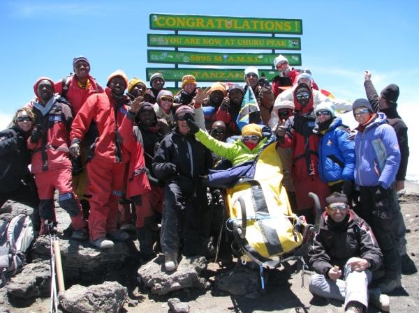 Au sommet du Kilimandjaro (D.R.)
