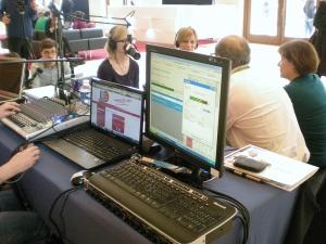 Le web, nouveau  studio radio? (crédit : J.C)