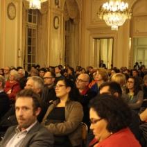 Une soirée en compagnie d'un public venu en nombre pour les remises de prix (Crédit photo : C.P)