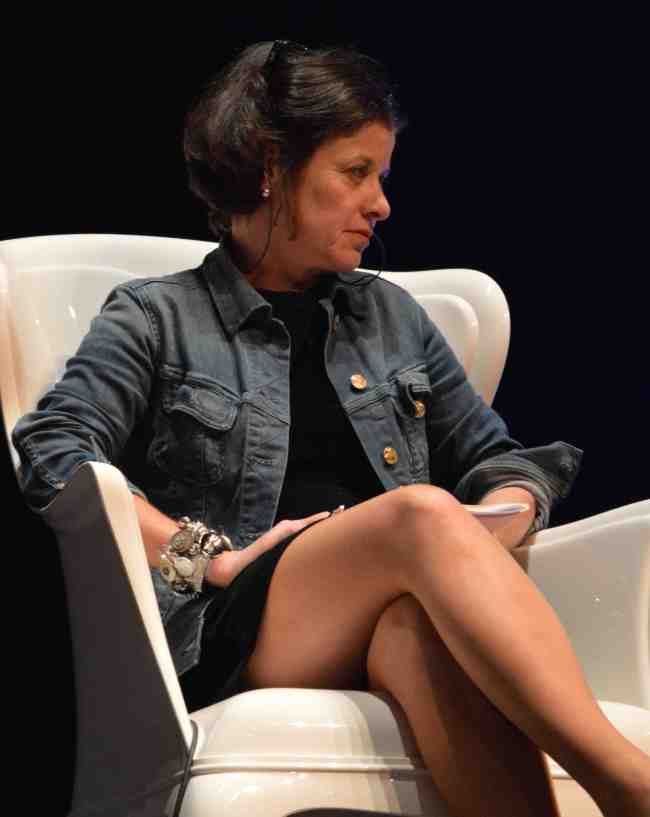 Elisabeth Lévy est l'un des auteurs du « Manifeste des 343 salauds ». (crédit photo :  Vincent Bourquin)