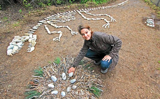 Lors de la première édition, la cannoise Cathy Cuby avait fabriqué un Dino écolo (Photo :F. BINACCHI / ANP / 20 MINUTES )