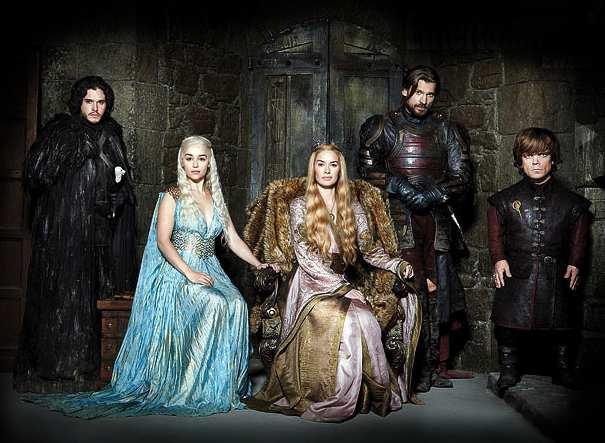 Game of Throne est la série la plus téléchargée en 2013. Crédit photo : HBO.