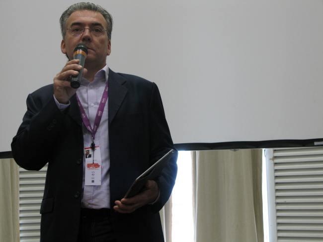 Mathieu Béjot était présent au Fipa 2014. Crédit photo : Léa Reguillot