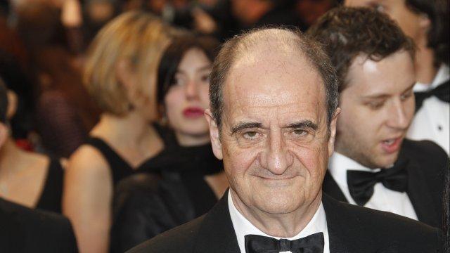 Pierre Lescure au Festival de Cannes 2013. Crédit : MAXPPP