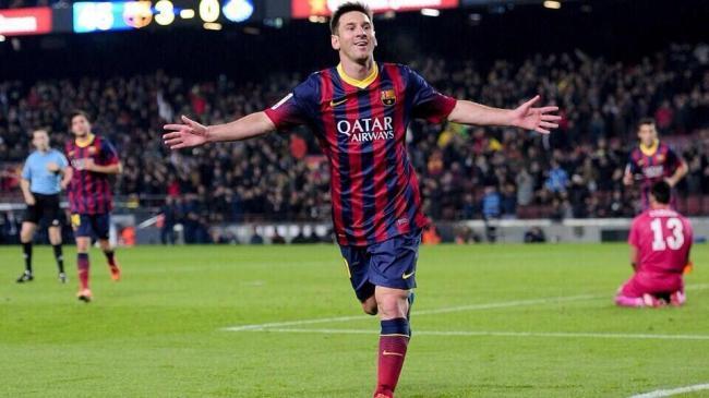 Messi a inscrit ses deux premiers buts en 2014 en toute fin de partie (crédit photo: DR)
