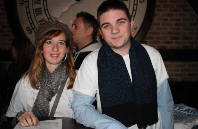 Aurore et Florian, deux jeunes membres de la « Team Lisnard » (Crédit photo : Gyotis Delsart).