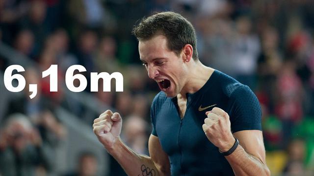 Lavillenie entre dans la légende du sport (Crédit photo : AFP)