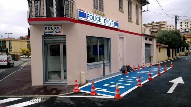 Ce système de « police drive » est une première en France. (Crédit photo : Erwan Schiex).