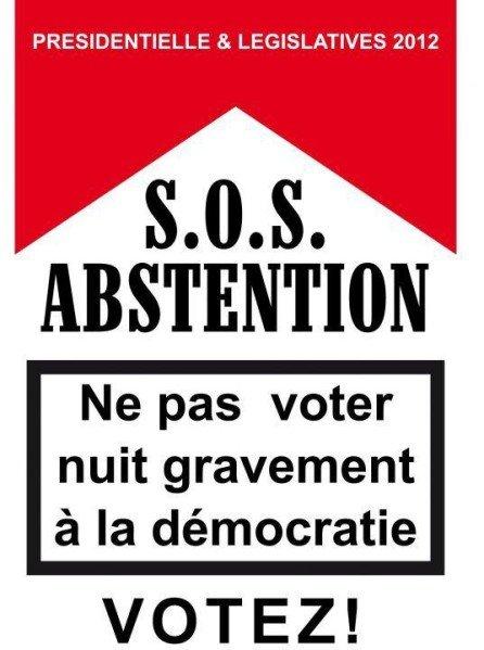 Les campagnes contre l'abstention seront-elles efficaces? Crédit Photo: D.R