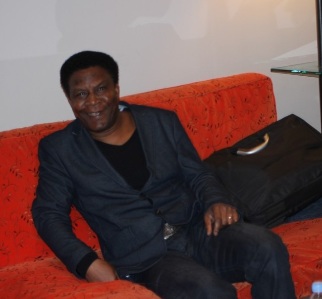 « Allan Adoté, un artiste dont l'idole est James Brown/ Crédit Photo : Mathilde BRUN)