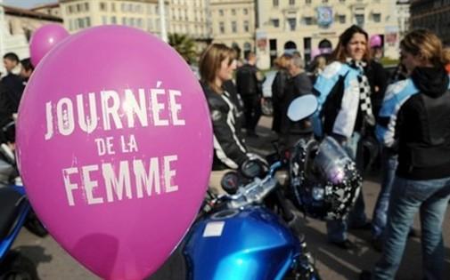 Un ballon pour célébrer la journée de la femme en 2011. (crédit : AFP-G. Julien)