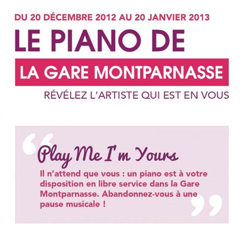 N'importe qui peut participer au concours. (crédit gare SNCF)