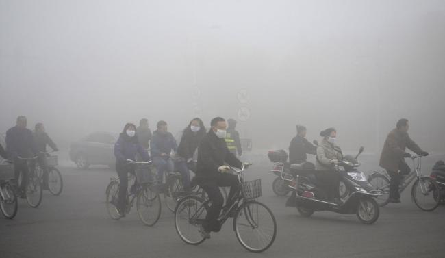 Harbin, le 21 octobre 2013. (Crédit photo: REUTERS/CHINA STRINGER NETWORK).