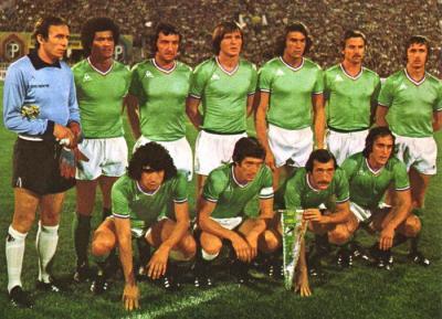 Curkovic, Rocheteau et leurs coéquipiers ont contribué à l'épopée verte. (Crédit photo : D.R.)