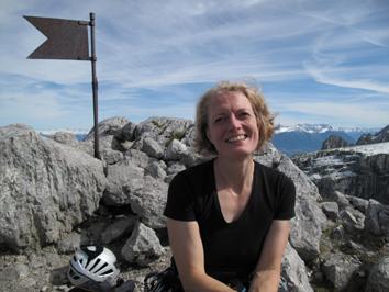Karin Steinbach, journaliste et alpiniste, fait partie du jury 2014 des Piolets d'Or/ DR