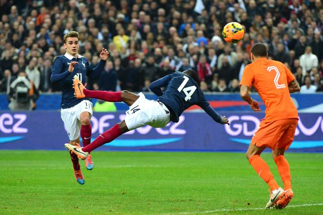 Blaise Matuidi a inscrit un but exceptionnel contre les Pays-Bas (crédit photo : D.R.)