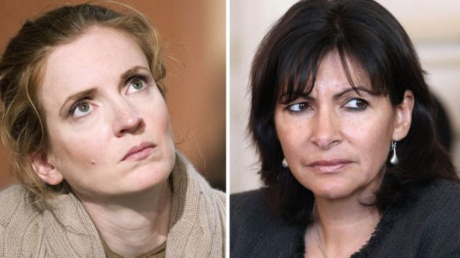Sur la photo à gauche, Nathalie Kosciusko-Morizet et à droite Anne Hidalgo se battent pour la mairie de Paris. (Crédits photo : Jacques Demarthon, Pascal Pavani, Lionel Bonaventure)