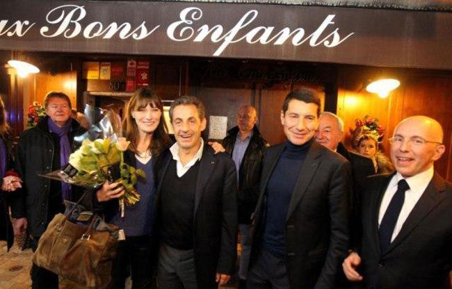 Et si le nom du restaurant avait une signification pour Nicolas Sarkozy, David Lisnard et Eric Ciotti (de gauche à droite) ? (Crédit photo : D.R.)