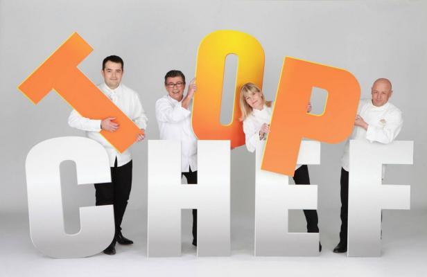 Le jury de Top Chef sur M6, émission concurrente de Masterchef sur TF1/ DR