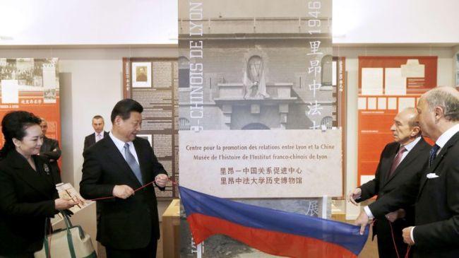 Xi Jinping a commencé sa visite officielle à Lyon/ DR