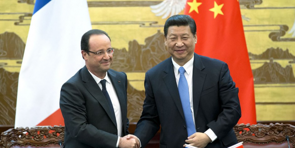 François Hollande a accueilli le président chinois Xi Jinping pour une visite officielle de 3 jours/ DR