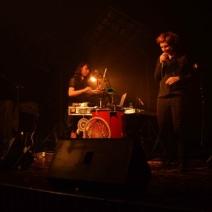 Andromakers était en première partie de Nosfell vendredi 11 avril à la MJC Picaud./ Crédit: VV