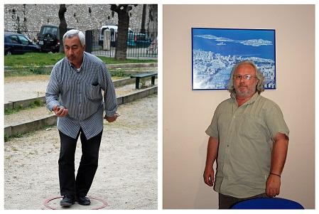 Bernard et Gwen ont exercé deux métiers phares du port de Marseille (crédits : Elie Julien / Manon Bazerque)
