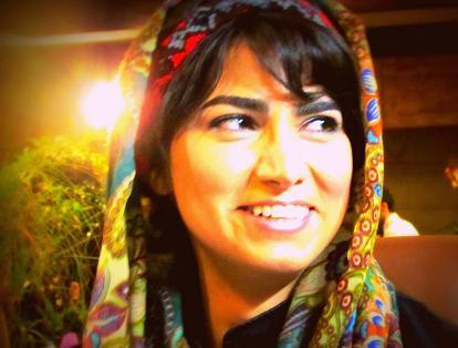 Maryam Shafipour emprisonnée à 27 ans (photo : bamdadkhabar.com)