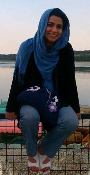 Maryam Shafipour, une étudiante condamnée à 7 ans de prison en Iran (Crédit photo : Keyhani blog)