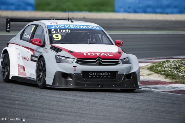 Sebastien Loeb sera au volant de sa Citroën Elysée pour la saison WTCC. (Crédit photo : Citroen Racing)
