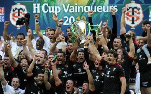 Pour voir le nom du stade toulousain en H-Cup, il faut remonter à 2010. Un gouffre pour un tel club. (Crédit photo : AFP/archives Lionel Bonaventure)