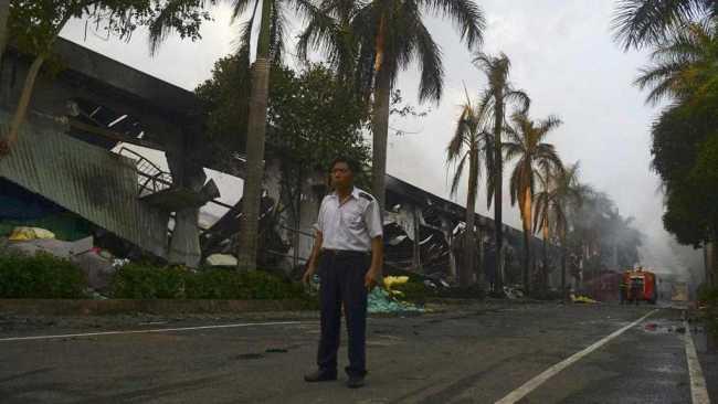 Depuis le 13 mai, plus de 400 usines ont été saccagées par les Vietnamiens. La plupart sont des entreprises chinoises. (Crédits photo: REUTERS/Thanh Tung Truong)
