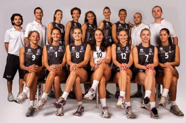 L'Equipe du Cannet volley (Crédit : D.R.)