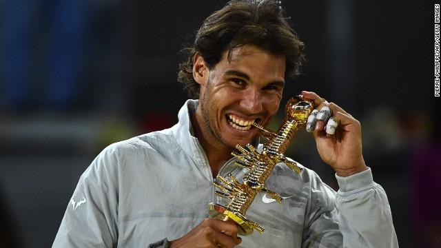 Cette année Rafael Nadal a uniquement remporté le tournoi de Madrid pour les tournois sur terre battue/ DR
