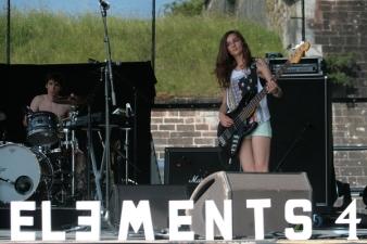 Le groupe d'Electro pop Elements 4 originaire de Haguenau. (Crédit photo : Nicolas Richen)
