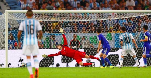 Le lutin de Rosario a fait gagner son équipe lors du premier match de Coupe du monde. (Crédit photo : D.R.)