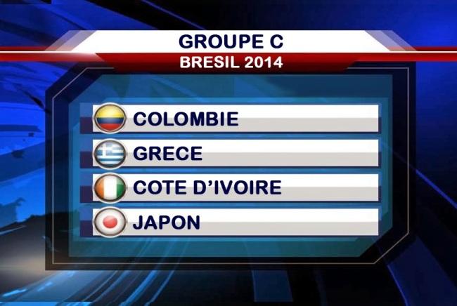 Les vainqueurs croiseront avec la poule D (très relevée) composée de l'Italie, l'Angleterre, l'Uruguay et le Chili. (Capture d'écran)