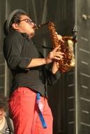Le groupe de jazz Tio Gus (Mexique). (Crédit Photo : Nicolas Richen)