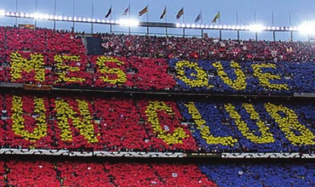 Plus qu'un club, le FC Barcelone est un symbole de catalanité (D.R.)