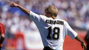 Jurgen Klinsmann en 1994 aux Etats-Unis  (Crédit photo : Imago)