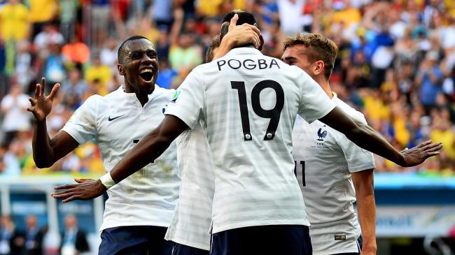 Paul Pogba a libéré les bleus à seulement onze minutes du coup de sifflet final.(Crédit photo: Panoramic)