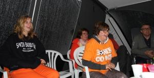 Les supporters hollandais tout sourire (Photo DD)