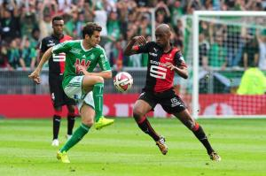 Le match Rennes – Saint-Etienne s'est soldé par un 0 à 0. Une habitude dans le championnat. (Crédit photo : D.R.)