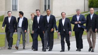 Pour lutter contre l'EI, Obama s'est entouré d'une coalition large, avec la France en première ligne. Crédit photo: francetvinfo.fr