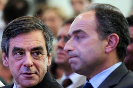 François Fillon et Jean-François Copé se sont livré une guerre acharnée, entraînant des divisions inévitables. Crédit photo : Jean-Pierre Muller/AFP
