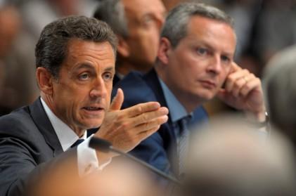 Autrefois ministre de N. Sarkozy, Bruno Le Maire souhaite définitivement s'émanciper. Crédit Photo : Reuters