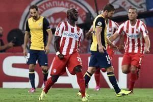 Olympiakos, d.r. Légende: Les grecs de l'Olympiakos ont réussi à passer 3 buts au dernier finaliste de la competition. (Crédit photo: D.R.)