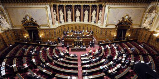 Vue d'ensemble du Sénat / AFP-Eric Feferberg