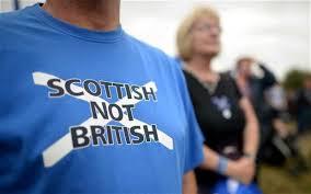 Les Ecossais pro-indépendantistes revendiquaient leur propre culture (crédit : Getty images)