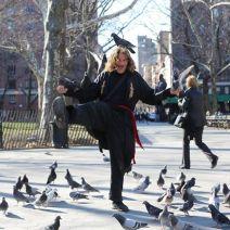 «Deux pigeons ont copulé sur mon épaule hier!» (Crédit Photo : Brandon Stanton)